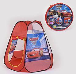 Палатка детская Small Toys 8006 Машинки Красный 2-78954, КОД: 1249348