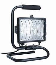 Прожектор ИО 500 П (переноска) галогенный чёрный IP 54
