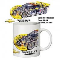 Чашка с принтом  Chevrolet