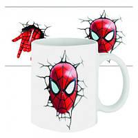 Чашка с принтом  Спайдермен
