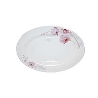 Блюдо овальне Рожева орхідея 10 S&T (30066)