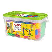 Детский развивающий конструктор Korbo Basic 180 деталей