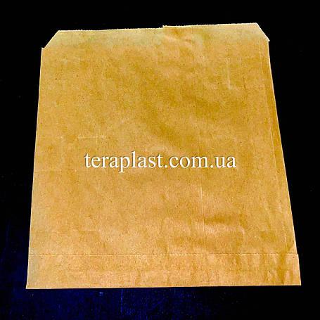 Пакет бумажный саше бурый 180х180, фото 2