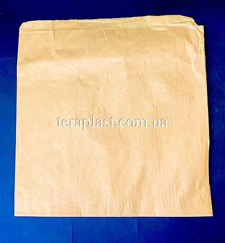 Пакет бумажный саше бурый 210х210, фото 2