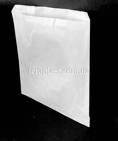 Пакет бумажный саше белый 210х210, фото 2