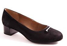 Туфли женские черные Stepter 7159