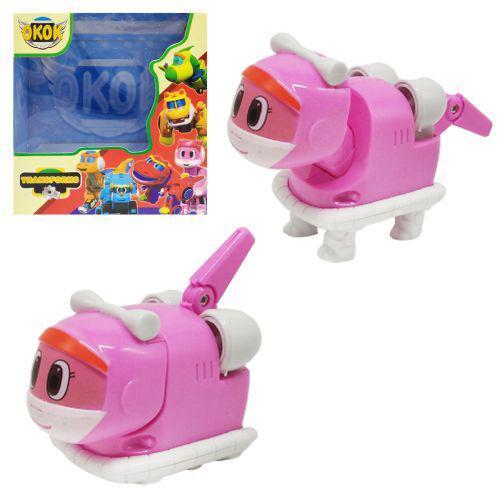 """Игрушка-трансформер """"GoGo Dino"""" розовый 7Toys 167 ( TC133090)"""