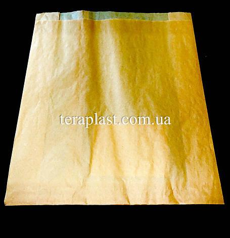 Пакет бумажный саше бурый 270х310х80, фото 2
