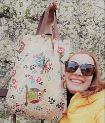 Стильные сумки для шоппинга