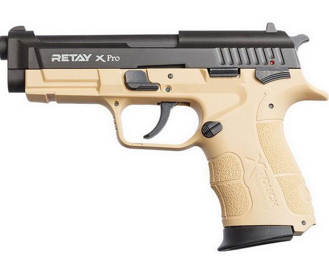 Сигнальний пістолет стартовий Retay XPro, (9мм, 15 зарядів), sand