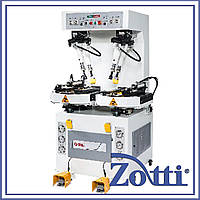 Универсальная гидравлическая машина для приклеивания подошвы mod. D-685B. DSL Tech (Китай)