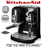 Кофемашина KitchenAid Artisan Espresso 5KES2102EOB, черная, фото 1