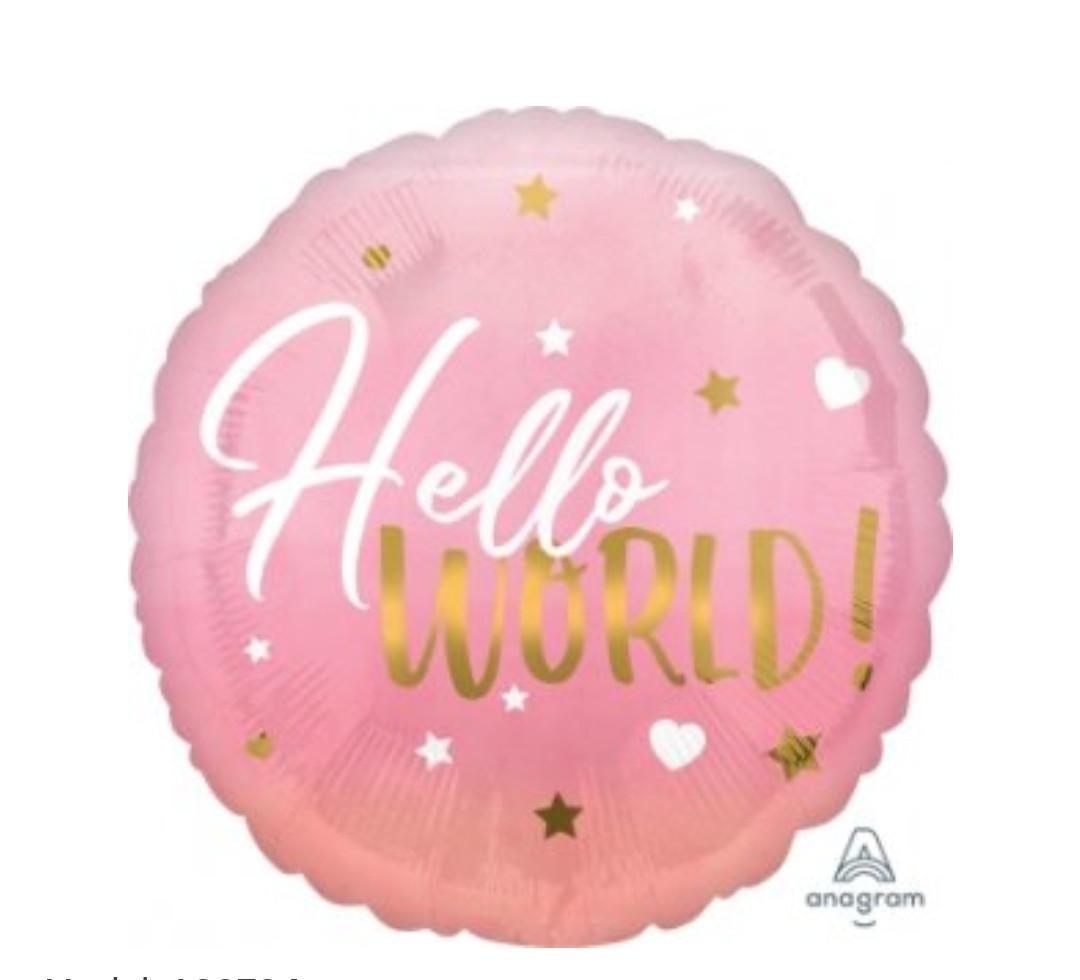 "А 18""Девочка  ""Hello World"" (Привет Мир), в УП."