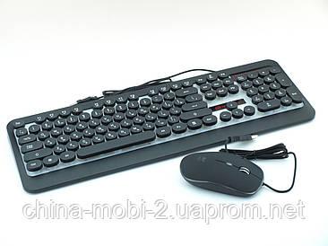 Комплект ігрова клавіатура і миша HK3970 6947
