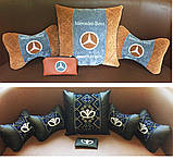Подушка в машину с логотипом, фото 2