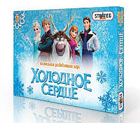 """Настольная игра ходилка-бродилка """"Холодное сердце"""", Frozen + линейка!"""