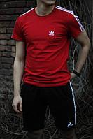 Футболка мужская красная Adidas