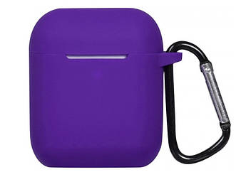 Силиконовый чехол Alitek с карабином для наушников Purple(062005)