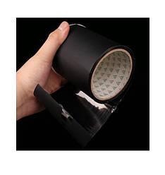 Водонепроницаемая, прорезиненная изоляционная лента Flex Tape 100 мм х 1.5 м Черная (61210)