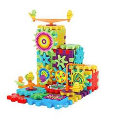 Детский развивающий 3D Веселый конструктор Funny Bricks 81 деталь (521035)