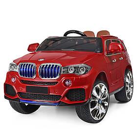 Дитячий електромобіль BMW (2 мотора за 35W, MP4) Джип Bambi M 2762(MP4)EBLR-3 Червоний
