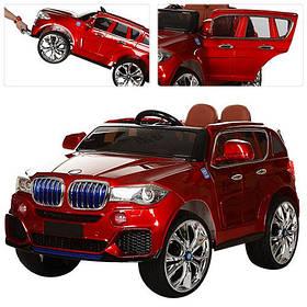 Дитячий електромобіль BMW (2 мотора за 35W, MP4) Джип Bambi M 2762(MP4)EBLRS-3 Червоний