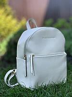 Стильный бежевый рюкзак женский городской Pretty woman