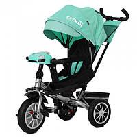 Велосипед трехколесный TILLY Cayman 381/3 зеленый с пультом и усиленной рамой