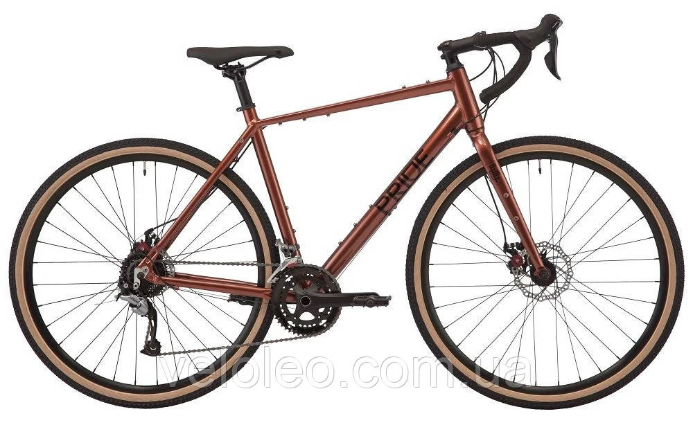 """Велосипед 28"""" Pride ROCX 8.2 рама-L 2020 red/wood/black"""