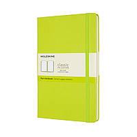 Блокнот Moleskine Classic Средний (13х21 см) Нелинованный Лимонный Зелёный (QP062C2) (8056420850888)