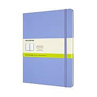 Блокнот Moleskine Classic Великий (19х25 см) Чисті аркуші Блакитна Гортензія (QP092B42) (8056420850840)