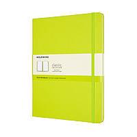 Блокнот Moleskine Classic Великий (19х25 см) Нелинованный Лимонний Зелений (QP092C2) (8056420850901)