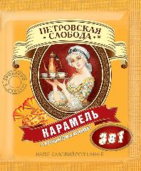 Кофе 3 в 1 со вкусом карамели Петровская Слобода 25 пакетиков