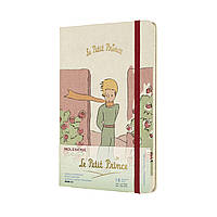 Еженедельник Moleskine 2020-2021 Le Petit Prince Средний (13х21 см) Цветы (DPP18WN3Y21) (8056420851519)