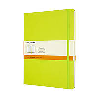 Блокнот Moleskine Classic Великий (19х25 см) в Лінію Лимонний Зелений (QP090C2) (8056420850895), фото 1