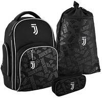 Школьный набор Kite FC Juventus рюкзак + пенал + сумка SET_JV20-706M