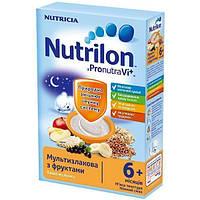 Каша Nutrilon молочная мультизлаковая с фруктами (c 6 месяцев) 225 г