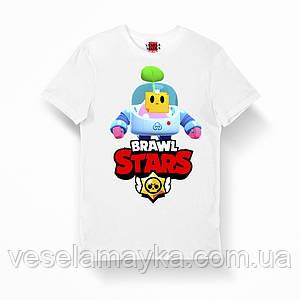 Детская футболка Бравл Старс Спраут (Sprout)
