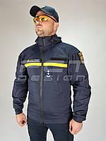 Куртка Ветровка Патрол для ДСНС на сетке синяя