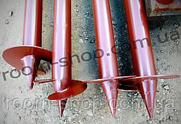 Свая винтовая (одновитковая, паля) диаметром 89 мм., длиною 1.5 метра, фото 3