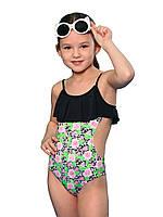 Сплошной купальник для девочки Keyzi, от 7 до 11 лет, Rose small 1psc