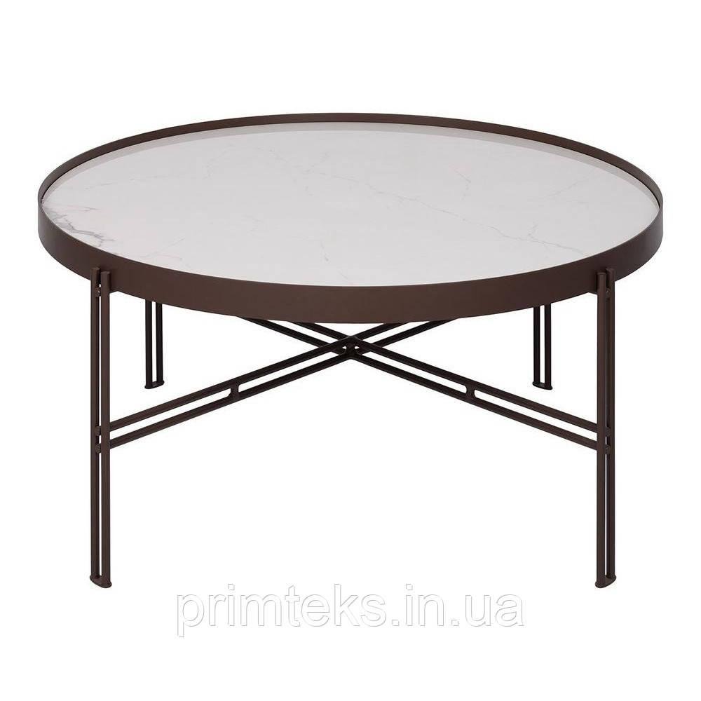 Журнальный столик ETON B керамика белый