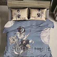 Комплект постельного белья из сатина 40s размер евро Prestij Textile