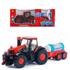 """Трактор с мыльными пузырями """"Happy Papa""""  scs"""
