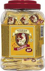 Кофе 3 в 1 Петровская Слобода со вкусом карамели 50 пакетиков в пластиковой упаковке