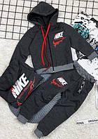 Детский спортивный костюм Найк Цвет черный!, фото 1
