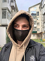 Трехслойная черная маска для лица 5шт. +2 В ПОДАРОК!