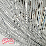 Дождик для фотозоны серебристый - (высота 1 метр, ширина 1 метр), двухсторонний, фото 8