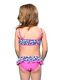 Раздельный купальник для девочки Keyzi, от 2 до 6 лет, Panther 2psc, фото 2