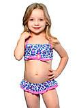 Раздельный купальник для девочки Keyzi, от 2 до 6 лет, Panther 2psc, фото 3